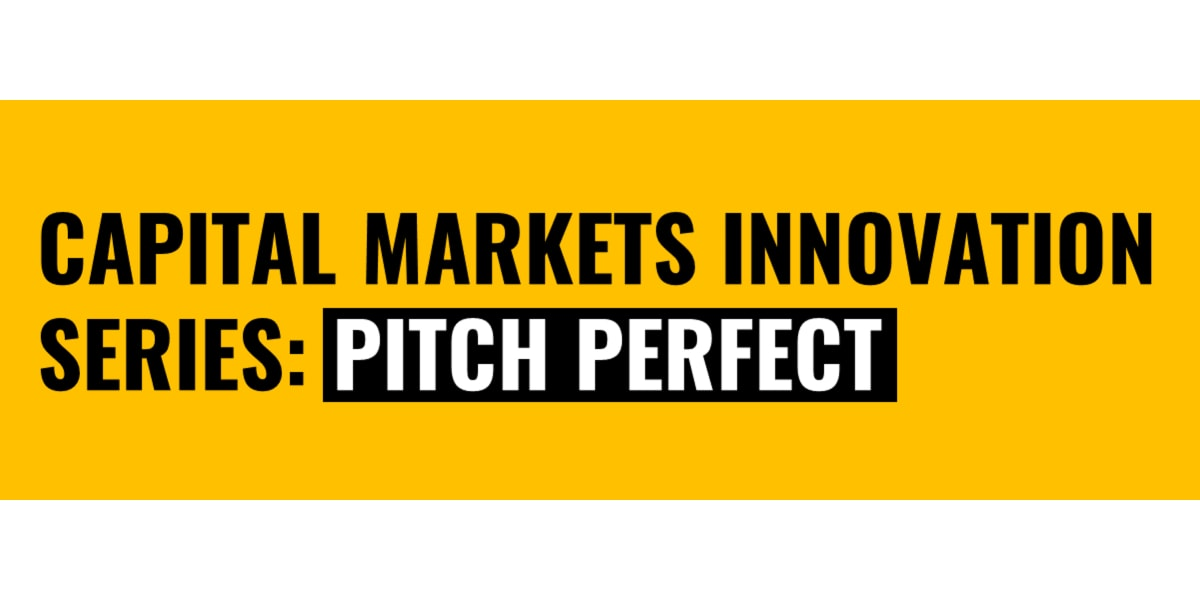Celent Capital Markets Pitch Perfect